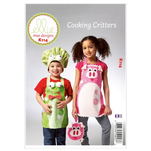 Cooking Critters - All Sizes in One Envelope