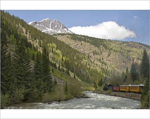 photographic-print-of-durango-a-silverton-train