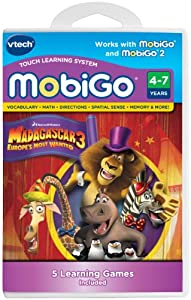 VTech Mobigo Software Cartridge Madagascar 3