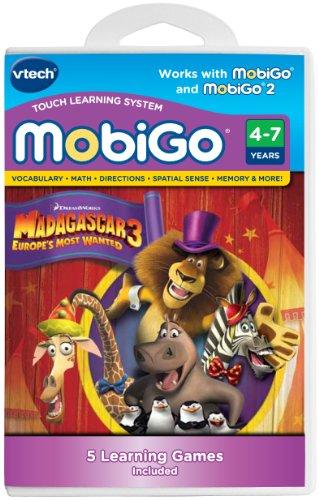 VTech MobiGo Software Cartridge - Madagascar 3 - 1