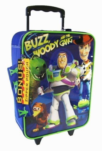 Disney Toy Story Buzz and Woody Pilot Case Luggage