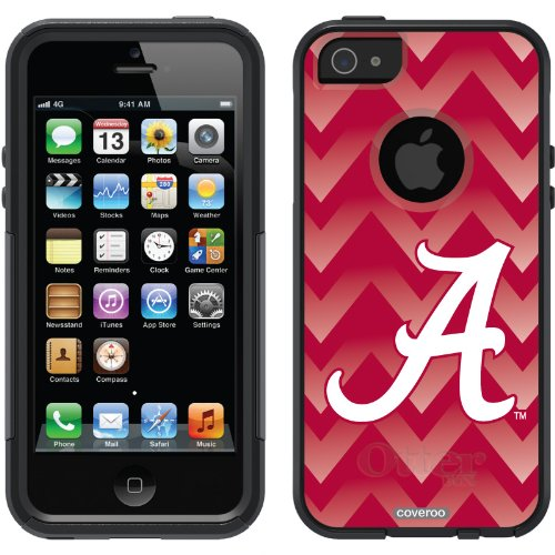 Special Sale Alabama - Gradient Chevron design on a Black OtterBox® Commuter Series® Case for iPhone 5s / 5