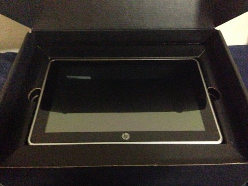 HP Slate 500 Tablet PC Atom Z540 1.86GHz 64GB SSD 2GB 8.9 WSVGA Touchscreen BT Window 7 Professional 2x Webcams