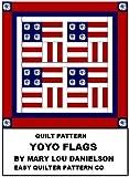Quilt pattern - Yo-Yo Flags