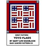 Quilt pattern - Yo-Yo Flags ~ Mary Lou Danielson