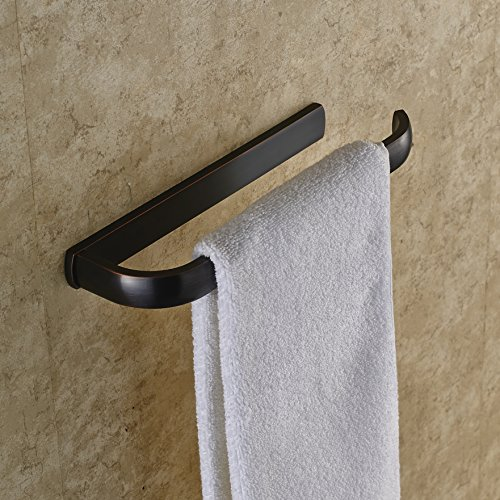 Rozin oil rubbed bronze bathroom towel rail wall mounted - Oil rubbed bronze towel bars for bathrooms ...