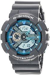 Men's G-Shock Analog/Digital Watch, Grey, GA110TS-8A2