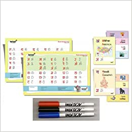 Marathi Flash Cards, Writing Chart Starter Package: 9781616230609