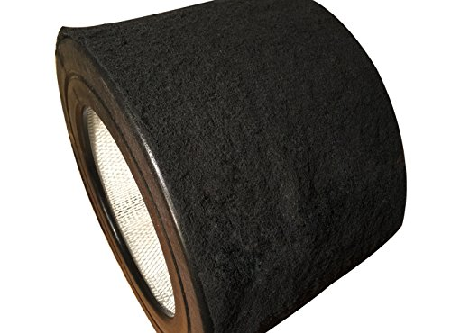 Universal Air Cleaner Carbon Replacement Pre-Filters Compatible with Honeywell 50250-S Round Air Purifier (1 Piece) (Filter For Honeywell 50250 compare prices)