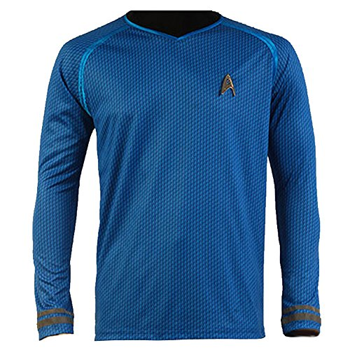 CosplaySky Star Trek Into Darkness Spock Shirt