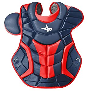Buy All Star System 7 Chest Protectors Navy Scarlet by All-Star