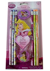 Disney Princess 8pc Princess Pencil Set - Disney Princess School Supplies - Disney Princess Pencil Pack