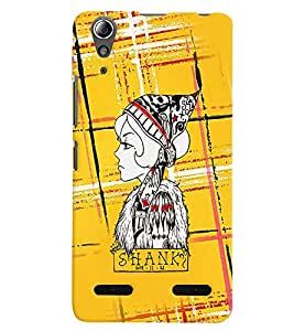 PRINTVISA Abstract Shank Case Cover for Lenovo A6000 Plus