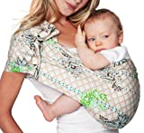 Hotslings Adjustable Pouch Baby Sling, Graham Cracker, Large