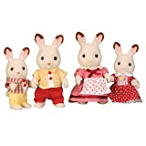 Sylvanian Families - Chocolate Rabbit Familyby Flair