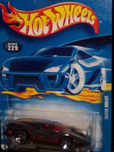 #2001-229 Silver Bullet Collectible Collector Car Mattel Hot Wheels 1:64 Scale (Silver Bullet Hot Wheels compare prices)