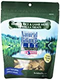 Natural Balance Limited Ingredient Treats Brown Rice and Lamb Meal Formula for Dogs, 8-Ounce Bag