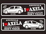 アクセラ BL系 リメイクラブセキュリティステッカー