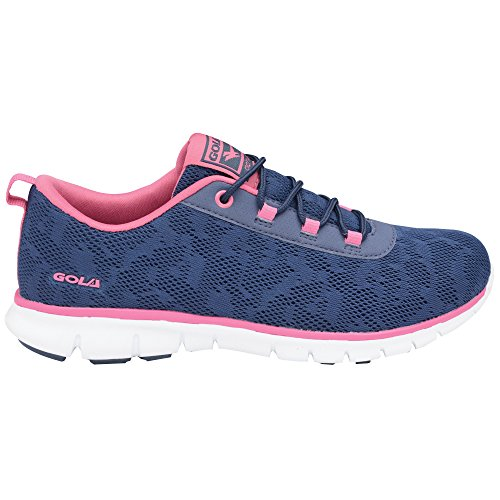 Gola Sport Womens Active Bela Fitness Trainers/Sneakers (7 US) (Navy/Pink)