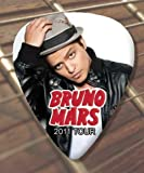 Bruno Mars 2011 Tour Premium Guitar Pick x 5 Medium