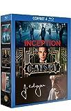 Image de Coffret Leonardo DiCaprio - Inception + Gatsby le magnifique + J. Edgar [Blu-ray]