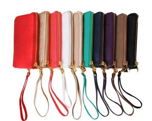 Humble Chic Small Wristlet - Phone Wristlet - Small Purse - Vegan Leather