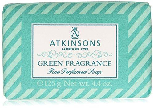 Atkinsons - Sapone Fino Profumato, Green Fragrance - 125 g