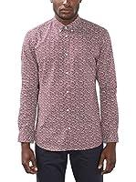 ESPRIT Collection Camisa Hombre (Rojo)