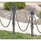 Shindigz Halloween Decoration Skeleton Arm Lawn Stakes