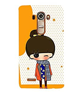 Vizagbeats Naughty baby Back Case Cover for LG G4::LG G4 H815