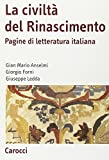 img - for La civilt  del Rinascimento. Pagine di letteratura italiana book / textbook / text book