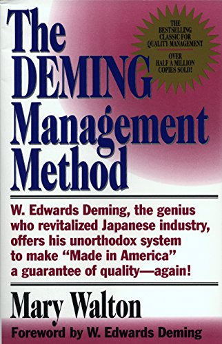 the legacy of dr william edwards deming based on waltons deming management method