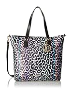 Just Cavalli Bolso shopping (Negro / Multicolor)