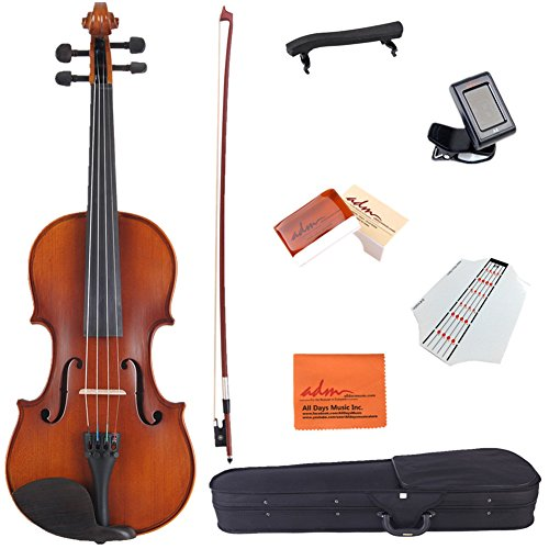 adm-3-4-size-handcrafted-solid-wood-student-acoustic-violin-starter-kit-red-brown
