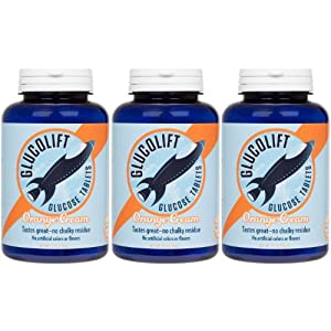 Glucolift Orange Cream Flavor 3-pack with 1 Free Travel Tube