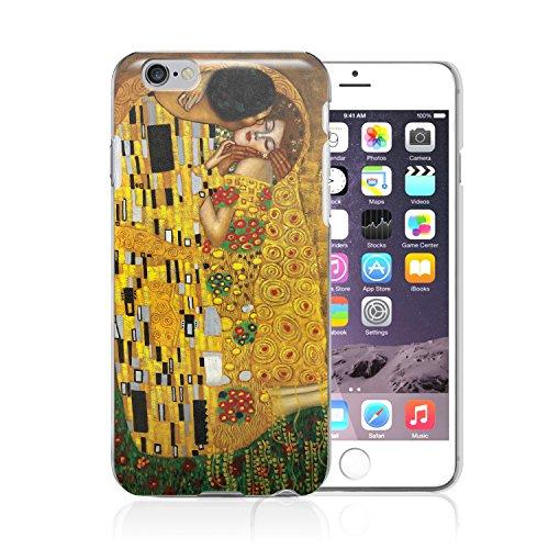 Cover satinata per Apple iPhone 6, soggetto: Klimt - The Kiss