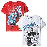 Kidsville Boys' T-Shirt (BM1KB04_Multicolor_9 - 10 years) (Combo T-shirt's -2)