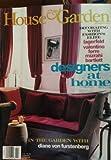 img - for House and Garden Magazine November 1998 - In the Garden with Diane Von Furstenberg - Designers At Home: Lagerfeld, Valentino, Ferre, Mizrahi, Bartlett book / textbook / text book