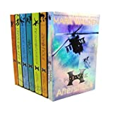 Mark Walden 7 Books Collection Set (H.I.V.E Series) (Aftershock, Rogue, Higher School of Villainous Education, Escape Velocity, Zero hour, Dreadnought, The Overlord protocol)by Mark Walden