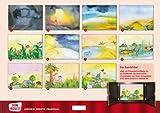Image de Kamishibai Bildkartenset Die Schöpfungsgeschichte.Wie Himmel und Erde entstanden. - Bildk