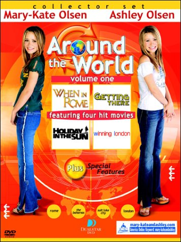 Mary-Kate & Ashley Collector's Set Around the World (When in Rome/Getting There/Holiday in the Sun/Winning London)