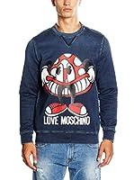 Love Moschino Sudadera (Azul)