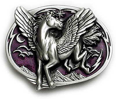 Buy PEGASUS Belt Buckle Fantasy Greek Mythology Gothic Horse