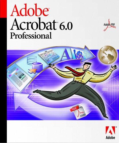 Detalles de Adobe acrobat 6.0 professional actualización para
