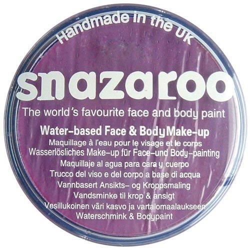 Imagen 1 de Snazaroo - Maquillaje al agua para cara y cuerpo (75 ml)- color lila