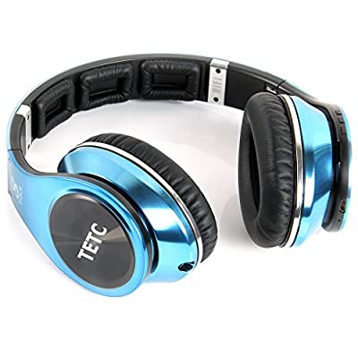 TETC Bluetooth4.0 Headphones Supports NFC Bluetooth, Revolutionary 8 Tracks 8 Driver Units Deep bass effect wireless Headphones On-Ear Headphones from TETC