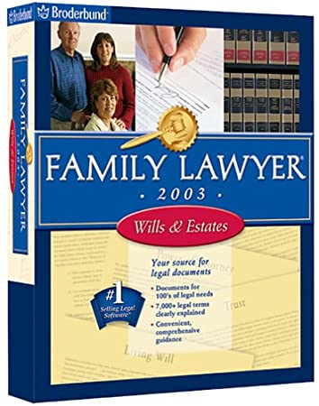 Family Lawyer 2003 Wills & Estates