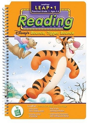 First Grade LeapPad Book: Bounce, Tigger, Bounce