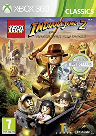 Lego Indiana Jones 2 - The Adventures Continues (Xbox 360)