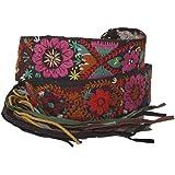 DESIGUAL Damengürtel fashion belt woven colourful